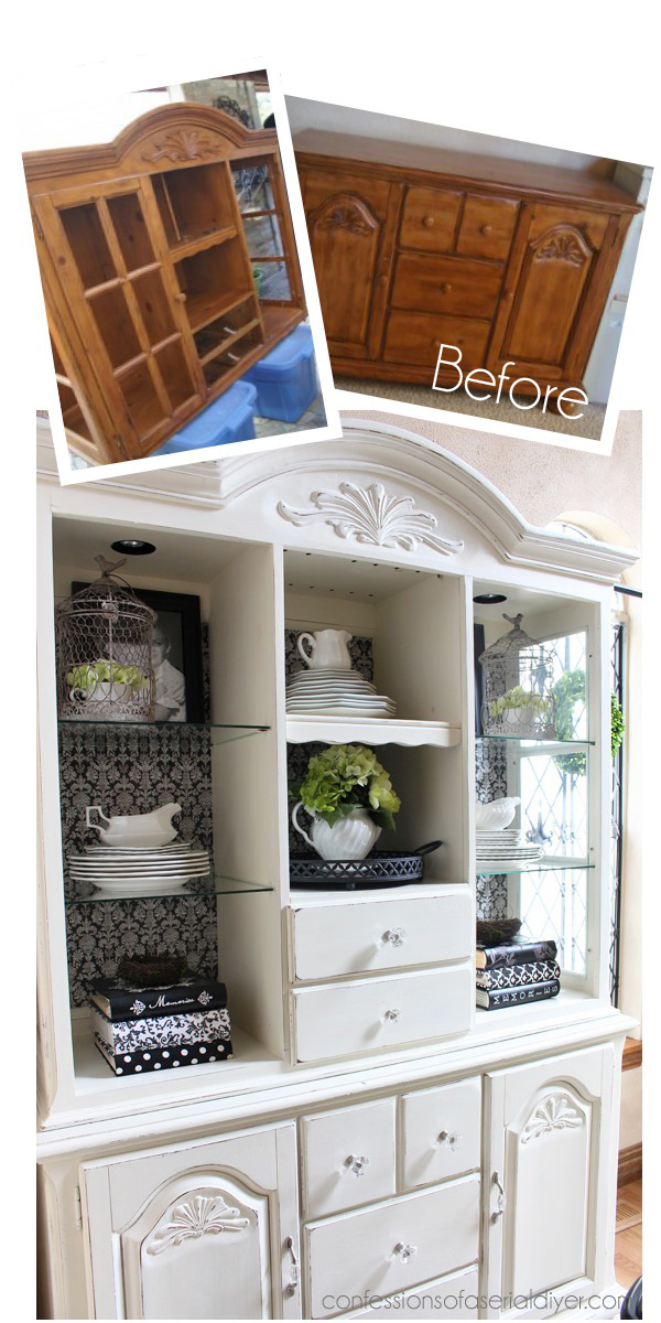 China Cabinet Makeover With Annie Sloanu0027s Chalk Paint