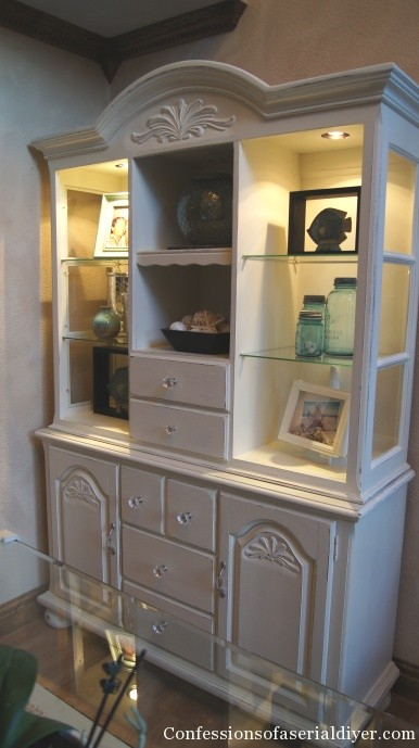 Cream Painted Hutch