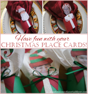 Fun Christmas Place Holders