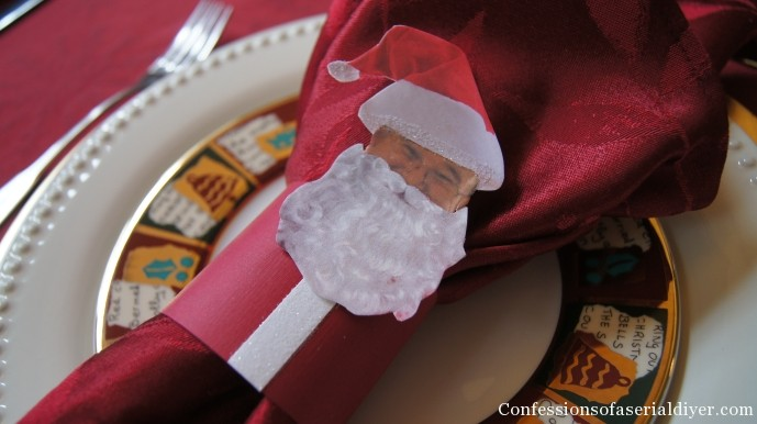 Christmas Napkin Holder