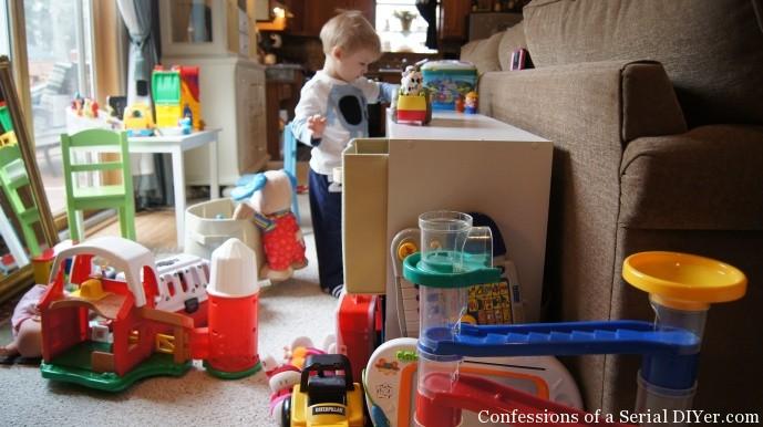 Brennan's play area