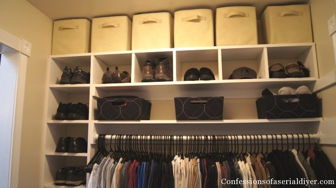 Master closet addition