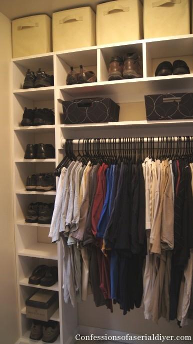Master closet addtion