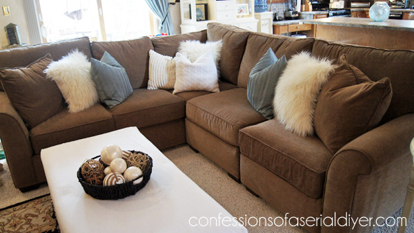 Sensational How I Destroyed And Rebuilt My Sectional Confessions Of A Theyellowbook Wood Chair Design Ideas Theyellowbookinfo