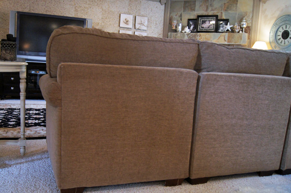 I took my sectional apart and rebuilt it