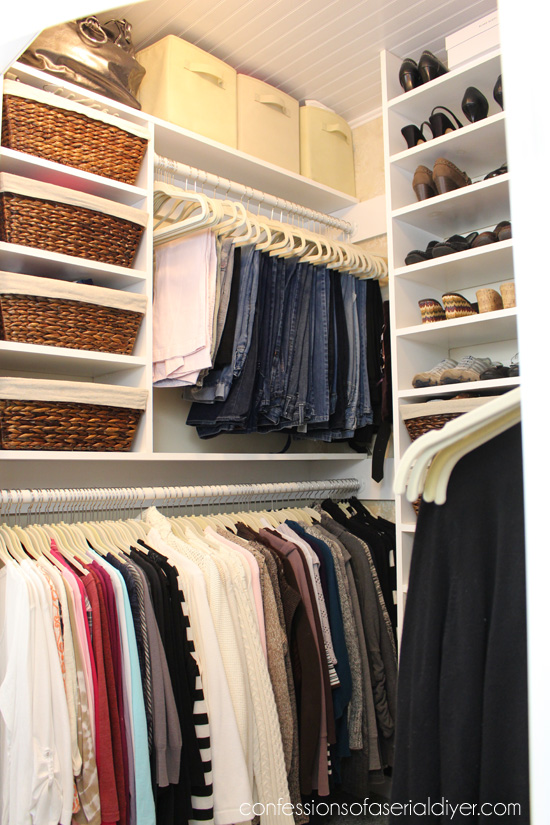 High Quality Closet Redo Using Every Available Inch