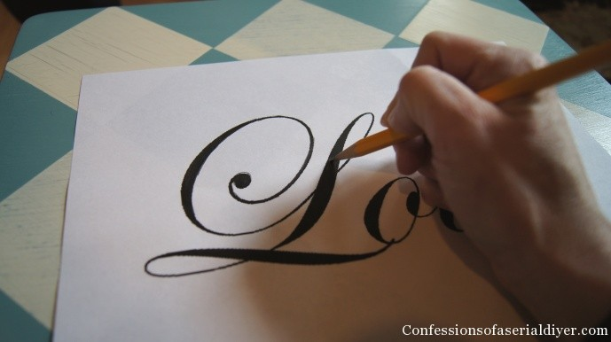 How to transfer letters