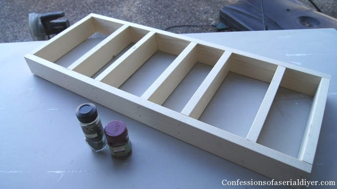 Frame for Spice cabinet