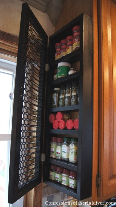 Cool Spice Cabinet