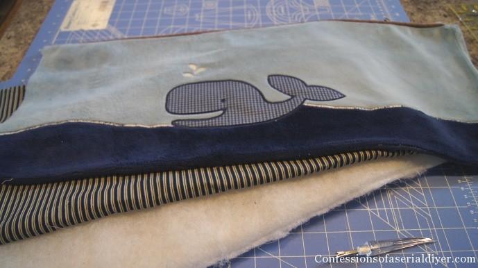 Three layers to bumper pad