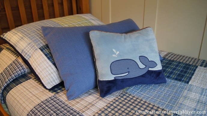 Pillow from Bumper Pad