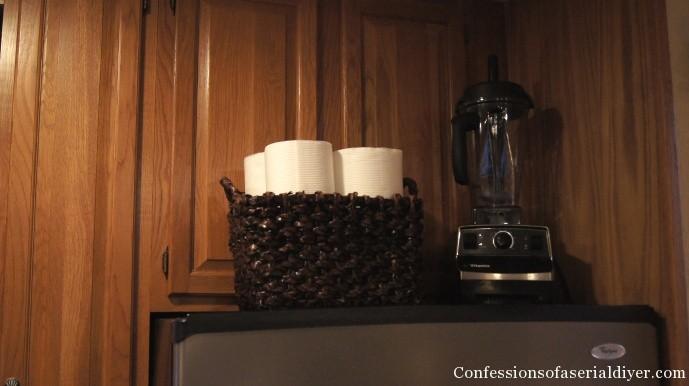 paper towel storage