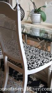 Garage Sale Chair Makeover