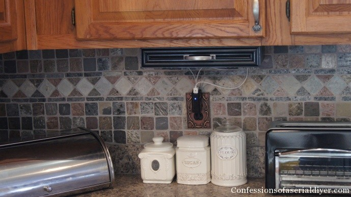 DIY Under-the-Cabinet Docking Station | Confessions of a Serial Do ...
