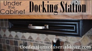 DIY Under-the-Cabinet Docking Station