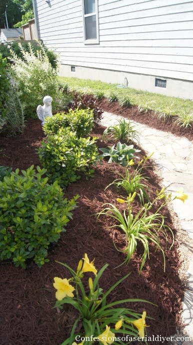 Landscaping Property Lines Pictures : Front yard transformation confessions of a serial do it