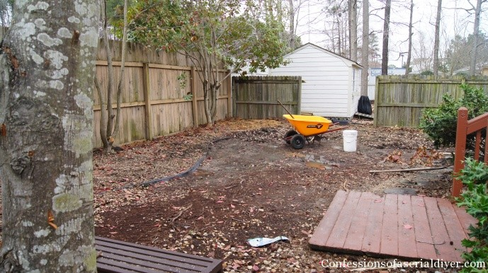 and after - Backyard Before And After