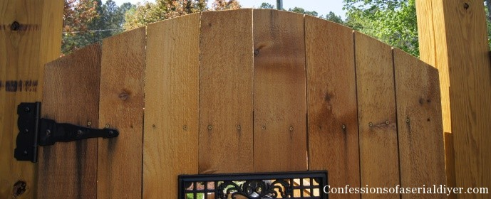 How a Girl Built a Gate | Confessions of a Serial Do-it