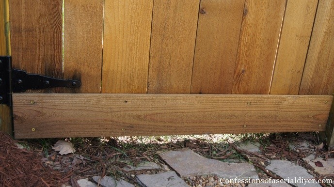 How To Build A Gate With A Window Confessions Of A