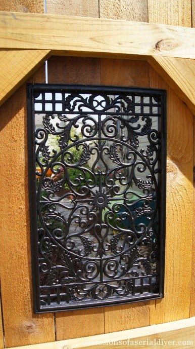 Nuvo Iron metal gate insert