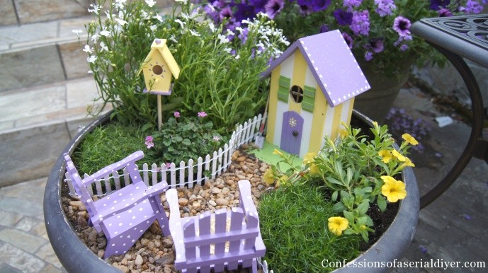 My Fairy Garden | Confessions of a Serial Do-it-Yourselfer