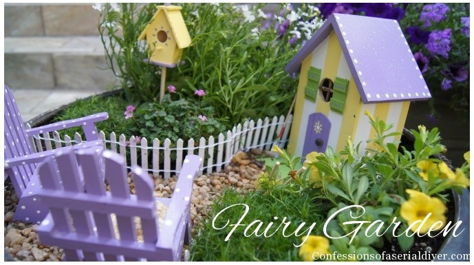 Build Your own Fairy Garden