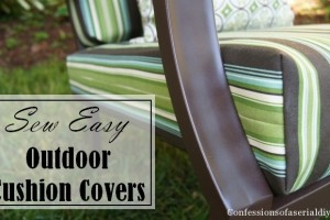 Sew Easy Outdoor Cushion Covers   (Part 1)