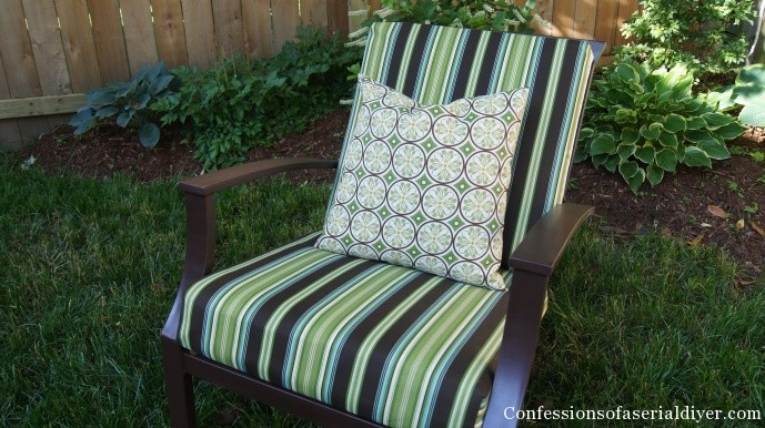 Easy Sew Outdoor Cushions
