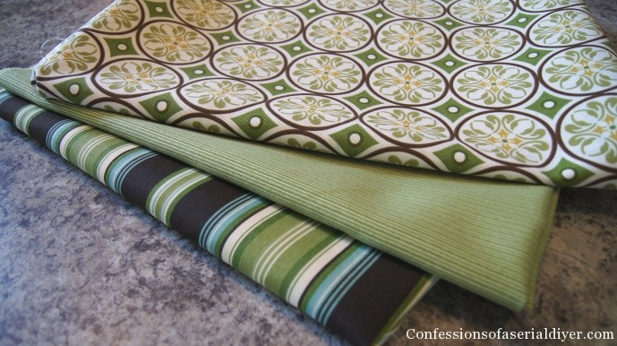 I prefer to use stripes or something with a geometric pattern to make  cutting a straight line easier. I also like to use colors that are  naturally found in ... - Sew Easy Outdoor Cushion Covers (Part 1)