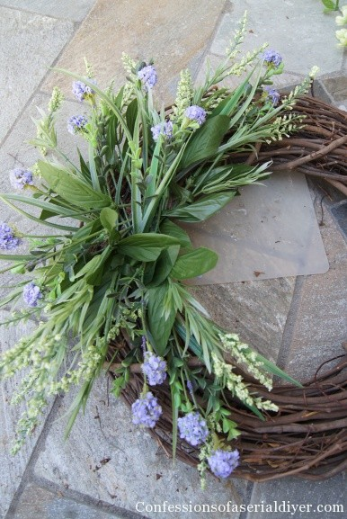 Diy Summer Wreath For Under 10 Confessions Of A