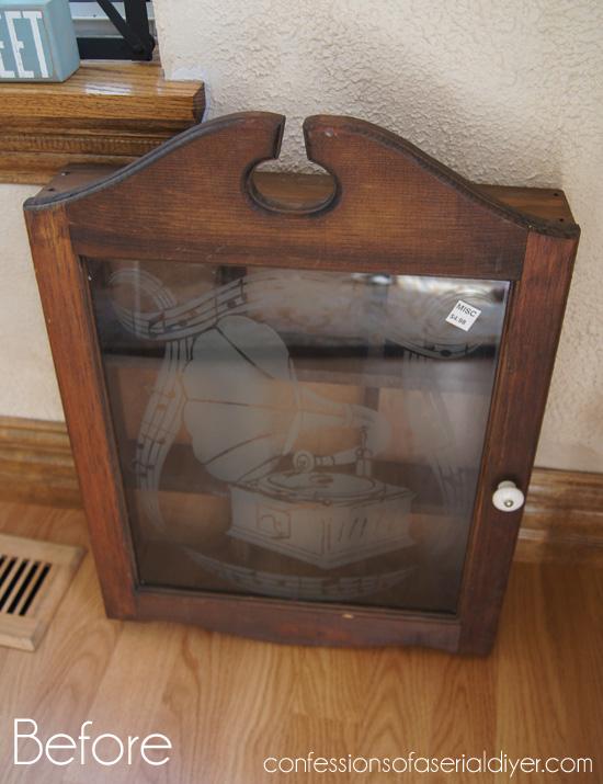 Harlequin-cabinet-before