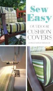 How to Cover Outdoor Cushions