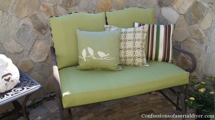 How to cover outdoor cushions - Sew Easy Outdoor Cushion Covers(Part 2)