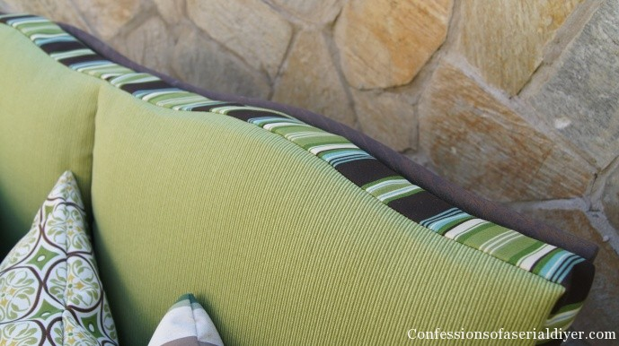 Sew your own outdoor cushion covers