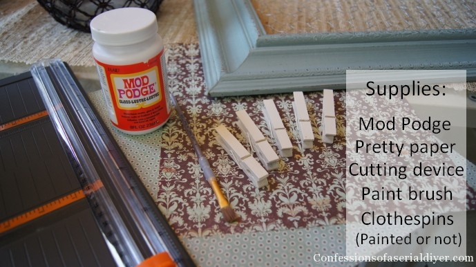 How to pretty up those clothespins