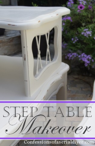 Step Table Makeover