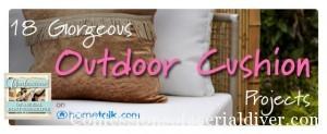 Outdoor Cushion Inspiration {As Seen on Hometalk}