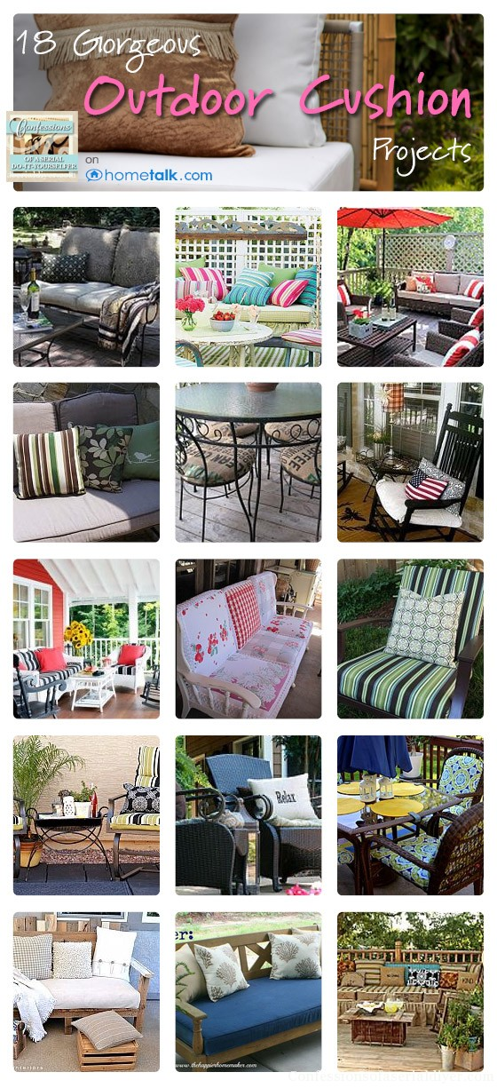 Outdoor Cushion Inspiration on Hometalk
