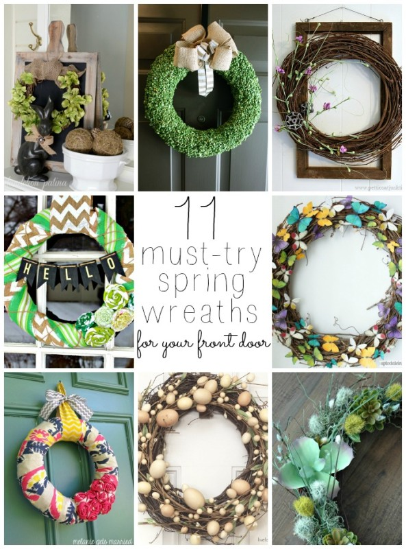 11 Must-try Spring Wreaths