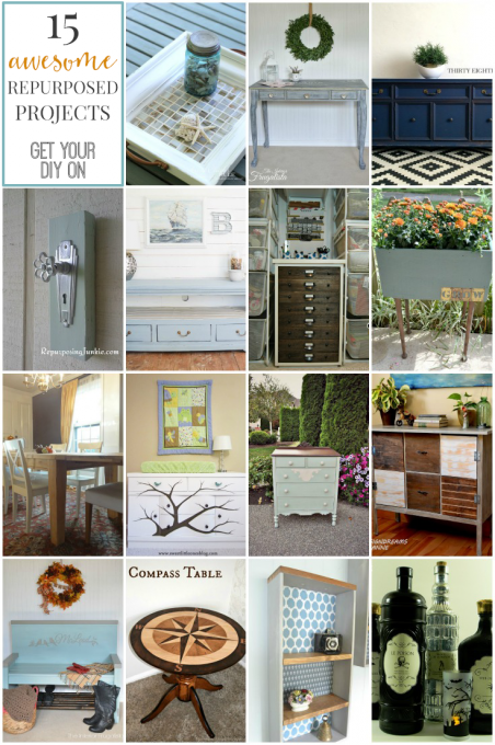 15 Awesome Repurposed Projects