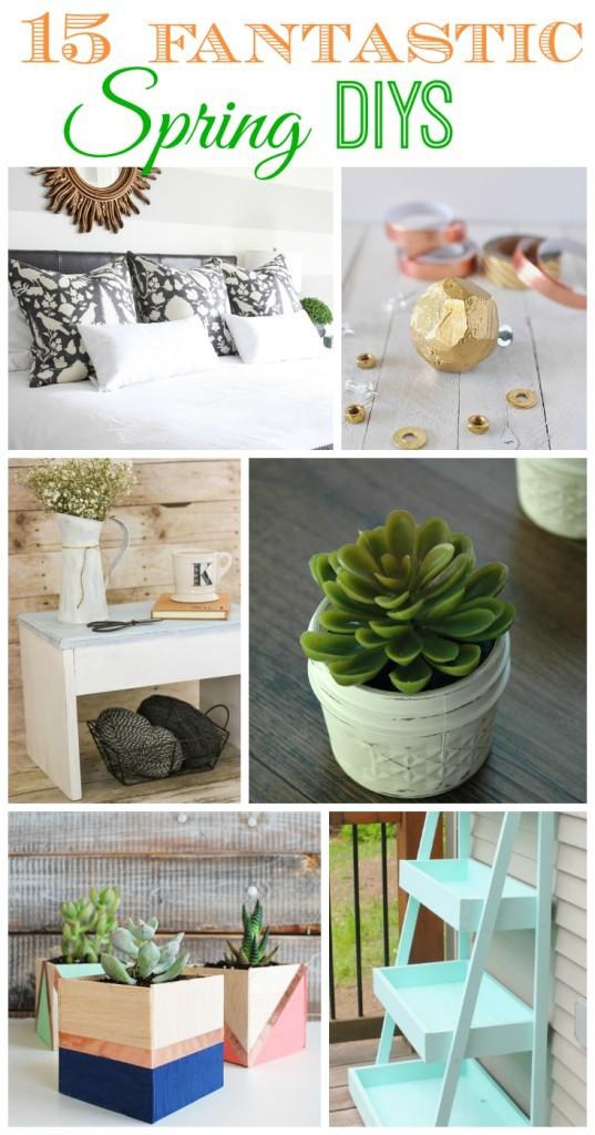 !5 Fantastic DIY ideas