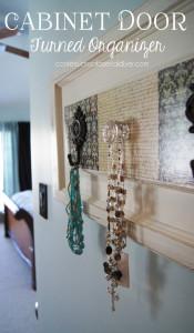 Cabinet Door to Organizer