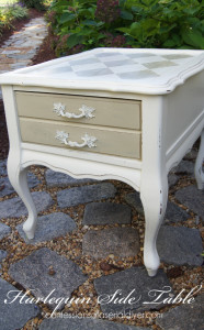 Harlequin Side Table