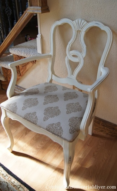 Annie Sloan Old White Dining Chairs