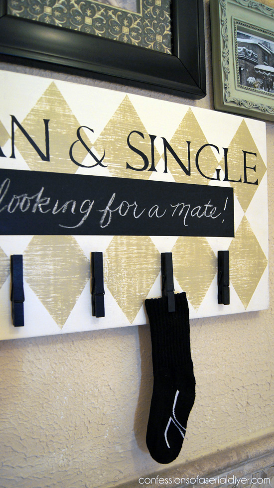 Fun Laundry Room Sign