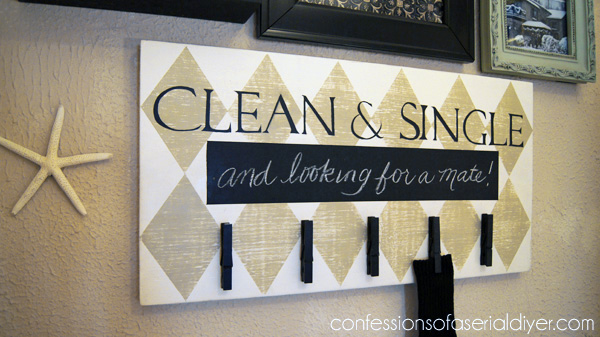 Fun Laundry Room Sign Confessions Of A Serial DoitYourselfer - Laundry room signs