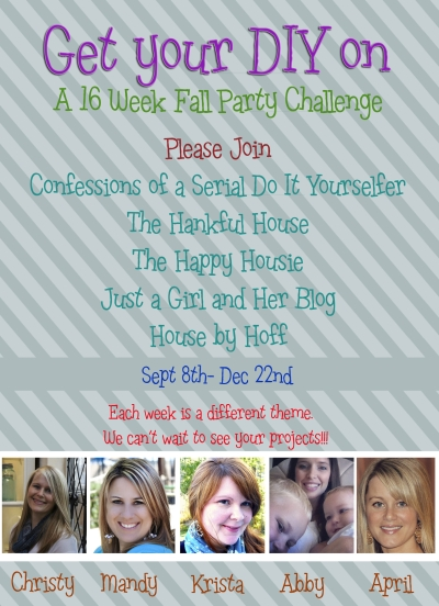 Get Your DIY on Fall Link Party Challenge