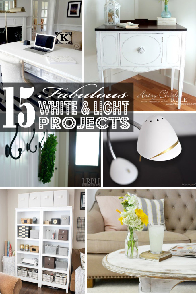 15 Faboulous White and Light Projects