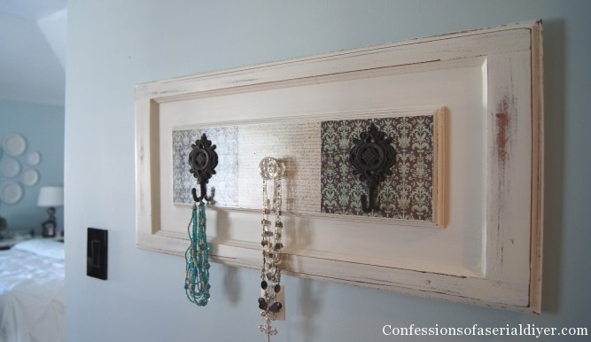 Cabinet door to organizer