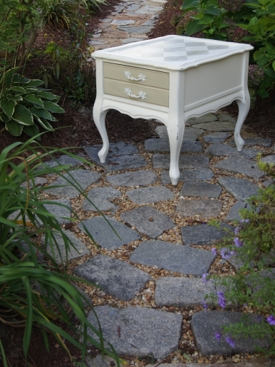 french provincial side table